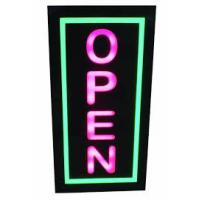 Quality Digital Square LED Open Sign Backlit Illumination Red Blue For Retail Store for sale