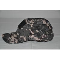 Quality 2014 City camo Baseball Cap with velcro/Military Headwear for sale