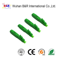 Quality ROHS LC 0.9mm Fibre Optic Connectors For Pigtail for sale