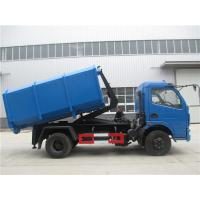 Quality Dongfeng 5cbm / 4ton Waste Removal Trucks With Hydraulic Pull Arm Garbage Container for sale