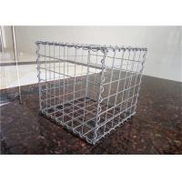 Quality Gabion Gravity Wire Cages Rock Retaining Walls Square / Rectangular Hole Shape for sale