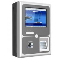 China Vehicle Mounted Bus Touch Screen Payment Kiosk With Cash And Prepaid Cards on sale