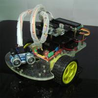 Quality 2WD Smart Arduino Car Robot Remote Control Intelligent Car with LCD Screen for sale