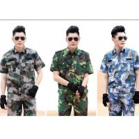 Quality Custom Made Army Military Uniforms , Durable Short Sleeve Military Uniform Jacket for sale