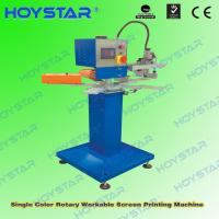 China rapid single color t shirt silk screen printing machine on sale