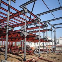Quality Five Storey Steel Structure Building with Civil Wall from factory direct sale for sale