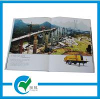 Quality Glossy Paper Hardcover Custom Catalog Printing for Commercial Promotion for sale