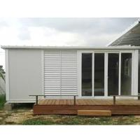 China construction site flat pack container house foldable container home on sale