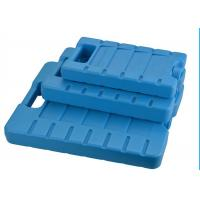 Quality Reusable 3 Refreezable Ice Packs For Lunch Box Solid Blue for sale