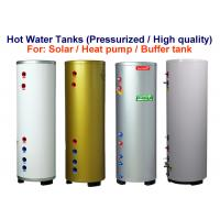 Quality Customized Size Hot Water Storage Tank , Safety Hot Water Reserve Tank for sale