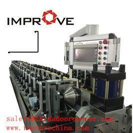 China L Roll Forming Machine Zinc Coat C Z U L W Punch Holes Machine on sale
