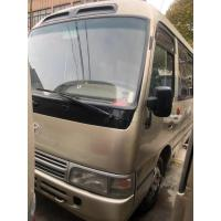 China Original TOYOTA Diesel engine school bus Used Toyota Coaster Buses leather seats 23-30Seats  Optional Color on sale