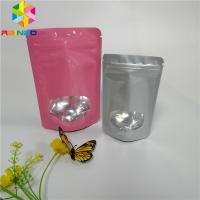 Quality 3.5g Seed Powder Foil Pouch Packaging Plastic Heat Seal Bags With Clear Window for sale