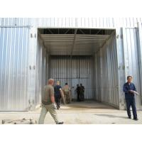 Quality Weatherproof Kiln Wood Drying Equipment Lift Sliding Door With 4 Units Fans for sale