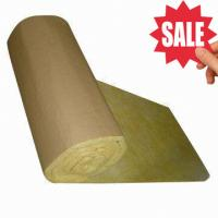 Quality Glass Wool Insulation Blanket with Kraft Paper Facing for sale