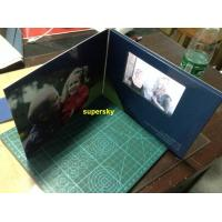 7 Inch A4 A5 Size LCD Video Book  / Lcd Invitation Card With 4G Memory