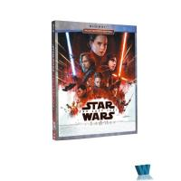 China 2018 Blue ray MOVIES Star Wars The Last Jedi 2BD Adult movies cartoon dvd Movies disney movie HOT SALE on sale