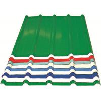 Quality Red/ Blue/ White Corrugated Metal Sheets , Recyclable Steel Sheets - Roof/Wall for sale