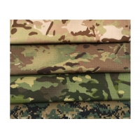 Quality TC Ripstop Military Woodland Camouflage Fabric 57/58'' Width for sale