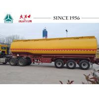 Quality Gasoline / Fuel Truck Trailer With Germany Type BPW Axle , High Efficiency for sale