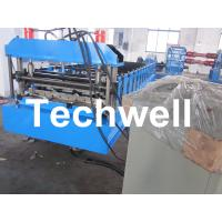 Quality Automatic Steel / Iron / GI IBR Roofing Profiled Sheet Roll Forming Machine for sale