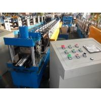China Prepainted Galvanized Sheet Rolling Shutter Strip Forming Machine With Auto PLC Control on sale