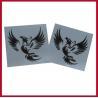 Buy cheap Custom glow in dark tattoo sticker from wholesalers