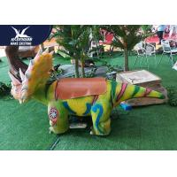 Buy Handmade Coin Operated Motorized Animal Scooters For Educational Playground at wholesale prices