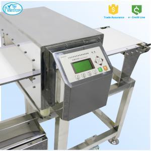 Quality FDA Standard Auto Conveyor Belt Meat Metal Detector 304 Stainless Steel 3D Version for sale