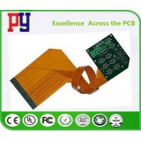 China Double Sided Rigid Flex PCB Immersion Gold 3/3 MIL Line Width / Spacing High Performance on sale