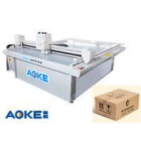 Quality DCZ50 corrugated cardboard carton box sample maker flatbed cutter table machine for sale