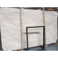 Quality Polished Oman Beige Marble Slab Countertop For Indoor Ground 20mm Thickness for sale