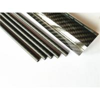 China High quality carbon fibre tubes price with matte/ glossy surface finish on sale