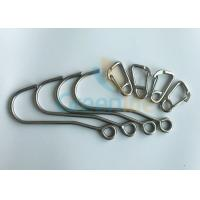Quality Coil Tool Lanyard Lanyard Accessories Iron Hook Stainless Steel D Carabiner Snaps for sale