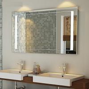 Quality Antifog mirror with heating demist pads ,digital lock mirror for bathroom for sale