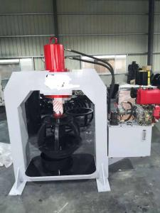 Quality Mobile Solid Tire Press Machine TP160 Placed On Van With Diesel Engine for sale