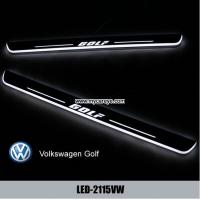 China Volkswagen VW Golf Water proof Welcome pedal auto light sill door pedal on sale