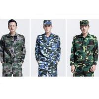 Quality Long Sleeve Waterproof Army Military Uniforms , Medium Thickness Army Camouflage Jacket for sale
