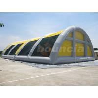 Quality 30mL*18mW*8mH Airtight Inflatable Paintball Field For Sale for sale