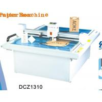 Quality DCZ1310 carton box die cut plotter sample flat bed cutting machine for sale