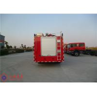 Departure Angle 14° Commercial Fire Trucks Max Torque 1190N.M With Manual Gearbox