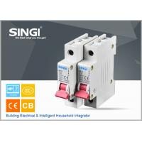 Breaking capacity reach to 10000 voltage 230v/400V 20a 50HZ single pole small circuit breaker overload protection