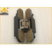 Silver Black Champagne Invisible Door Hinges Load 80 Kg Length 160mm Hinge