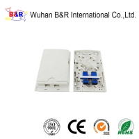 Quality White Waterproof IP65 FTTH 2 Port Outlet for sale