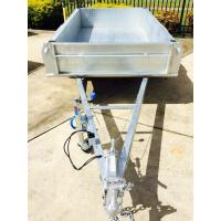 8x5 Fully Hot Dipped Galvanised Single Axle Trailer With Mechanical Disc Brake 1400KG