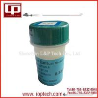 Quality Laptop repair tools 0.45mm Lead -free BGA solder ball for sale