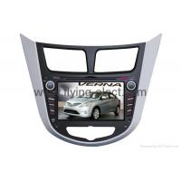 Buy cheap Special double din Car DVD Player For Hyundai-VERNA with GPS, IPOD, Bluetooth from wholesalers