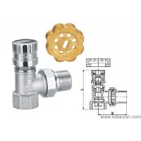 China BRASS RADIATOR VALVE WITH MAGNETIC LOCK on sale