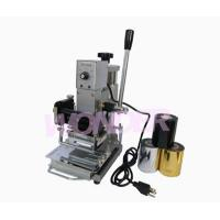 Quality Fabrication equipment WTJ-90A Hot stamping machine for sale