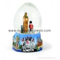 Buy cheap Polyresin Snowglobe Snowball Waterball for London from wholesalers
